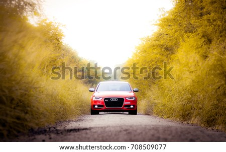 Coimbatore India September 2017 Audi Rs Stock Photo Edit Now