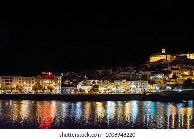 Coimbra, Portugal; October, 2017: Coimbra, a riverfront city in central Portugal and the country's former capital.