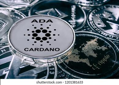 coin cryptocurrency carado ada against the main alitcoins the Ethereum, dash, monero, litecoin