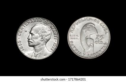 Coin of the Cuba Republic, year 1935