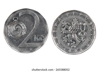 Coin of the Czech Republic.