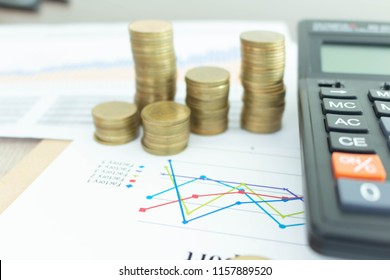 coin income in business on graph calculator