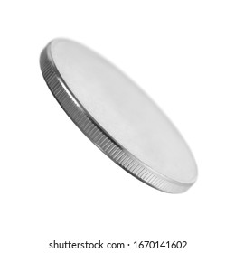 coin is isolated on a white background