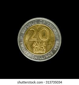 Coin Kenya 20 Schillings