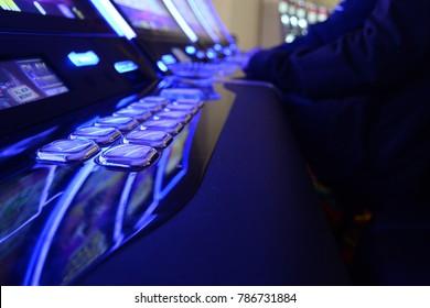 Coin machine in casino