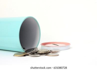 coin in moneybox