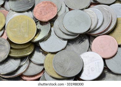 a lot of Coin new and old coin