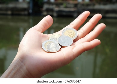 coin on hand
