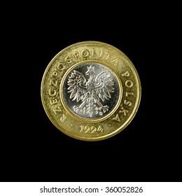 Coin Poland 2 zloty 1994.