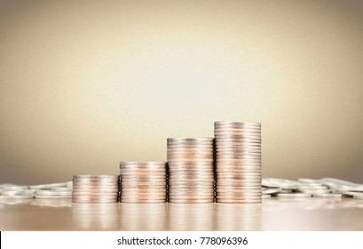 Coin stacks , business money ideas