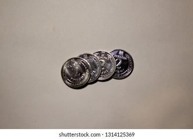 coins 2 hryvnia Ukraine
