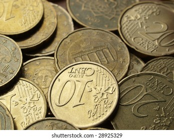 Coins background