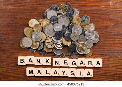 Coin Malaysian Ringgit MYR Sign Stock Photo (Edit Now