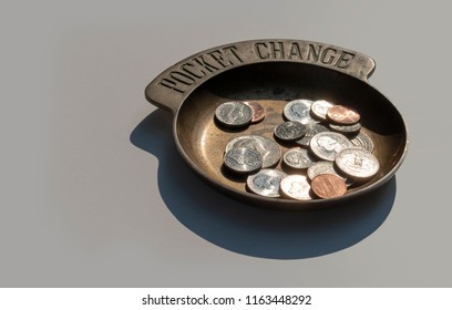 Coins in a Coin Holder