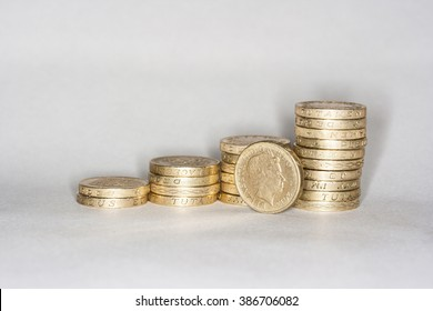 Coins, Money, Pound, Currency, Budget