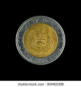 Coins of Peru 2 Sol  1995