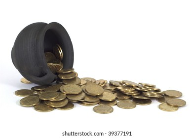 coins in the pot