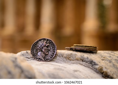 Coins in Roman theater