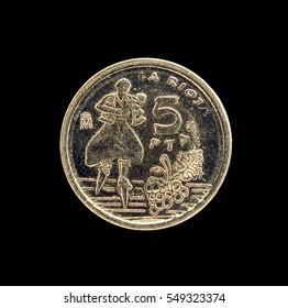 Coins Spain  5 pesetas 1996