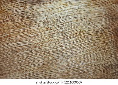 Coir mat fiber for background or texture