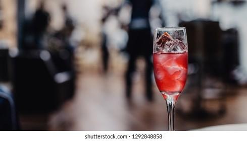 coktail in bar
