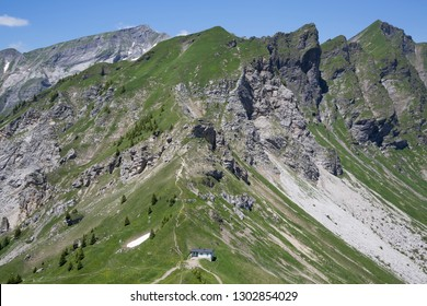 Col de Cou (Barme, Champery, Switzerland) is a known bird migration route. On the col is a bird observation station.