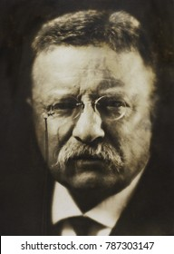 Col. Theodore Roosevelt, April 1917 by noted photographer, Pirie MacDonald. He photographed over 70,000 men during his career, including heads of state, religious leaders, and artists. Of these, he re