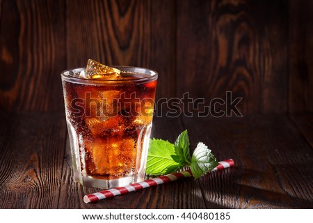 Cola drink Cola with