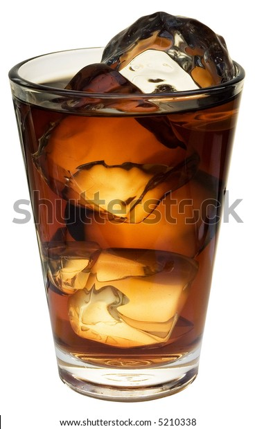 Cola; objects on white background