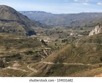 The Colca Canyon in Peru
