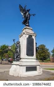 COLCHESTER, UK - MAY 7TH 2018: A view of the magnificent Colchester War Memorial in the market town of Colchester in Essex, UK, on 7th May 2018.