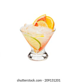 Cold alcoholic cocktail