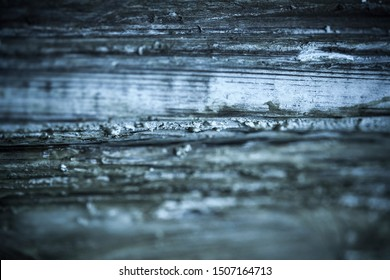 Cold blue horizontal background light