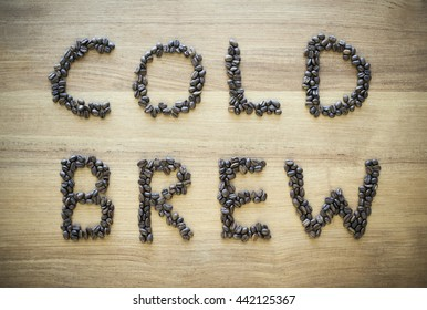 cold brew by beans