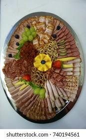 Cold cuts platter cold kitchen buffet