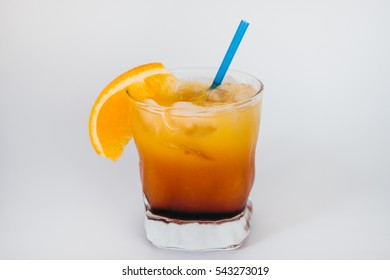 Cold drink. Cocktail.