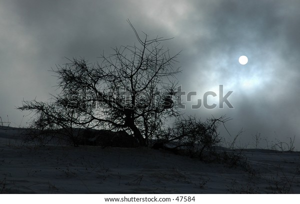 Cold and eerie