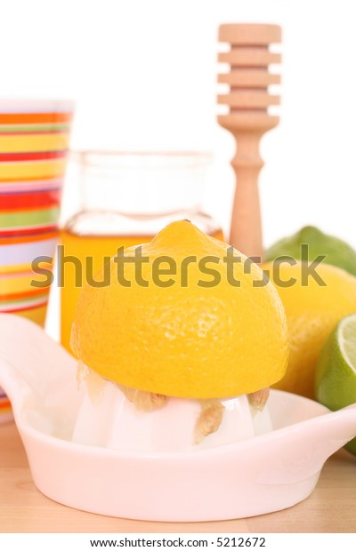 cold and flu remedy - honey and lemon
