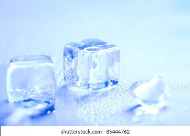 Cold, ice, cool background