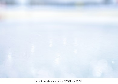 COLD LIGHT BACKGROUND, ICE SURFACE SHINING