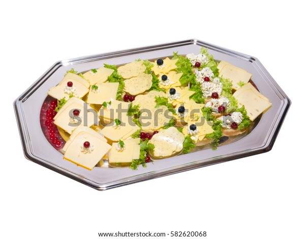 Cold plate, sandwiches with cheese