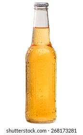 Cold and Refreshing Bottle of Beer