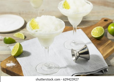 Cold Refreshing Lime Frozen Margarita Ready to Drink