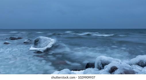 Cold sea nature