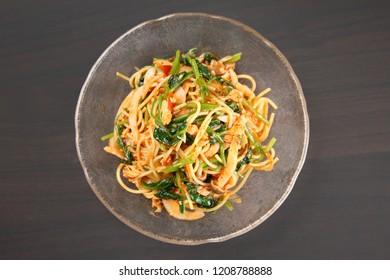 cold tomato spaghetti