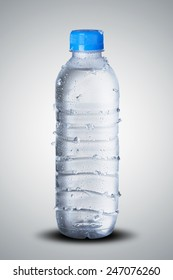 Cold Water Bottle with Cold Ice
