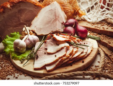 Cold-boiled pork in composition