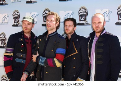 Coldplay  at the 2008 MTV Movie Awards. Gibson Amphitheatre, Universal City, CA. 06-01-08