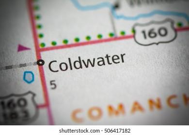Coldwater. Kansas. USA.