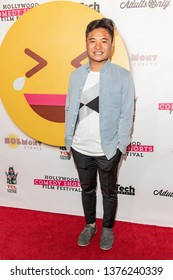 Cole Bacani attends 2019 Hollywood Comedy Shorts Film Festival at TCL Chinese Theatres 6, Hollywood, CA on April 20, 2019
